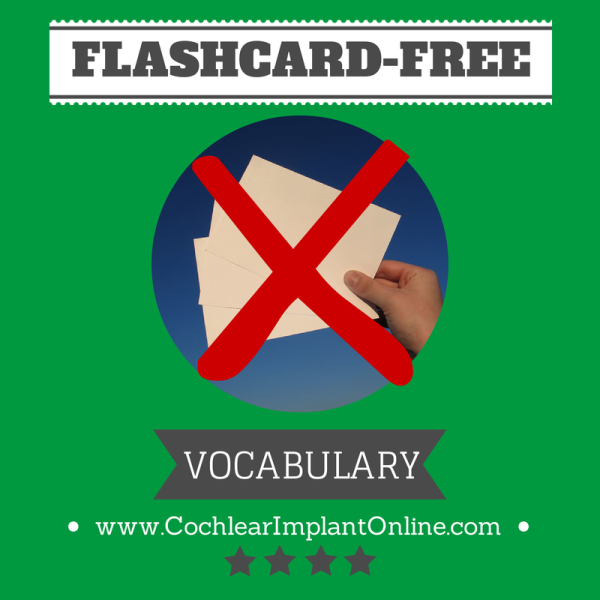 Don't Make Me Say the F-Word) Flashcard-Free Vocabulary